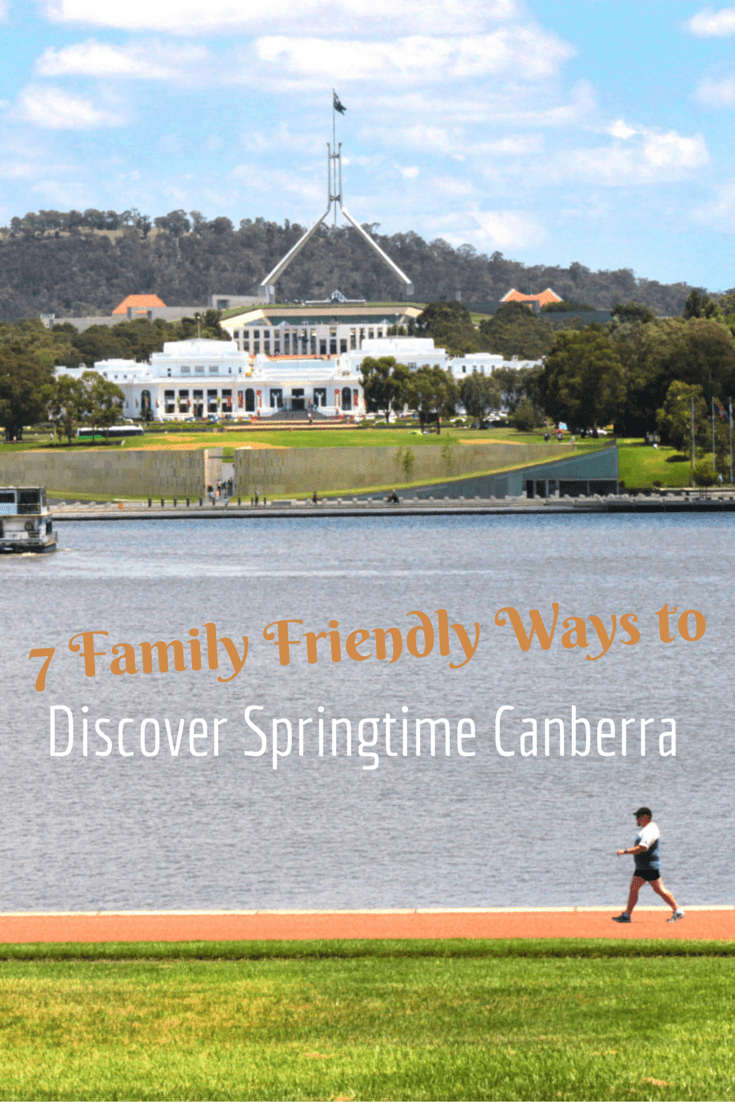 7 Family Friendly Ways to Discover Springtime Canberra
