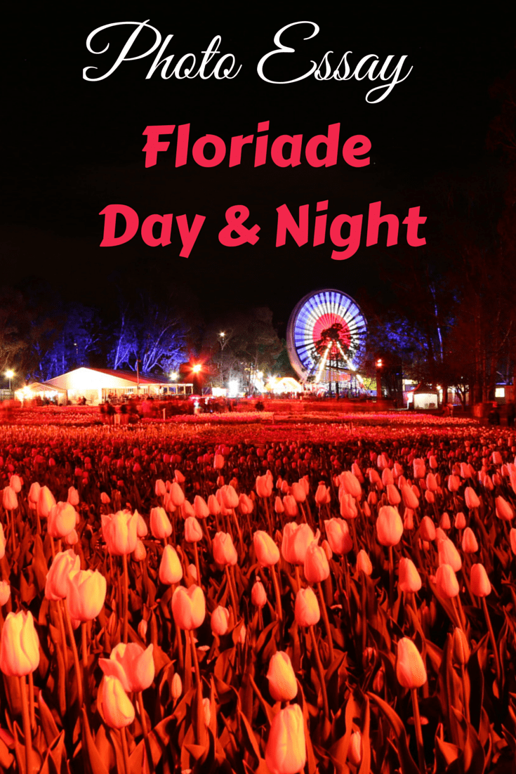 Photo Essay - Floriade Day and Night