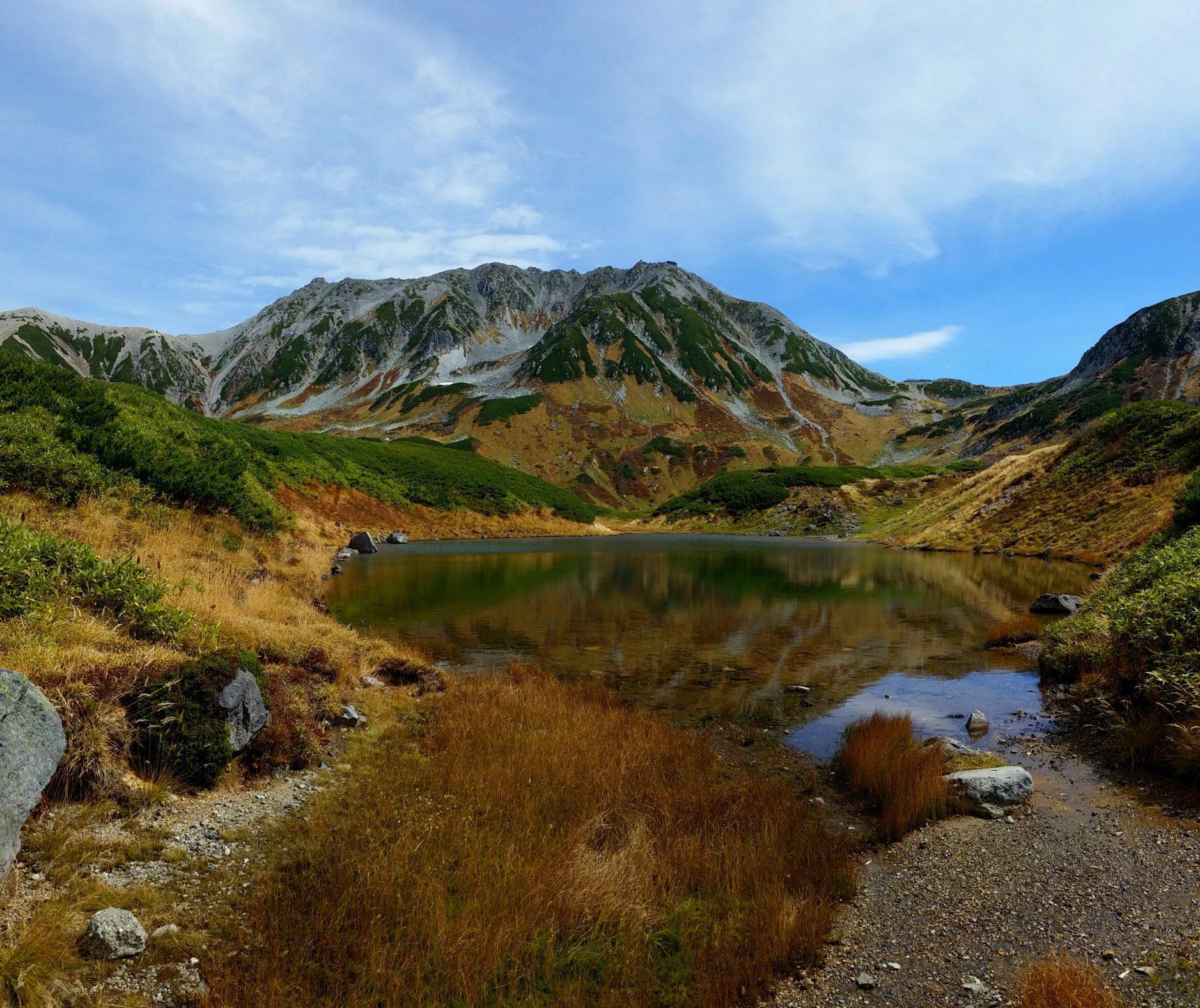 Murodo on the Tateyama Kurobe Alpine Route in Japan
