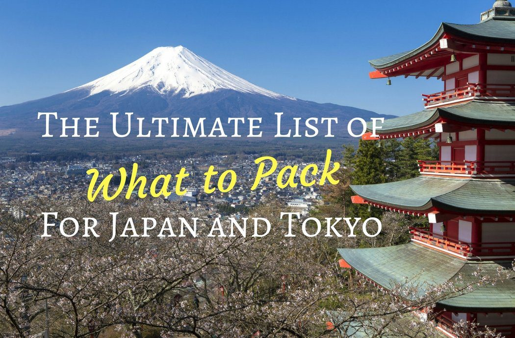 What to Pack for Japan and Tokyo