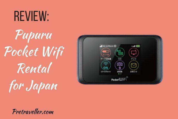 Pupuru Pocket Wifi Review for Japan