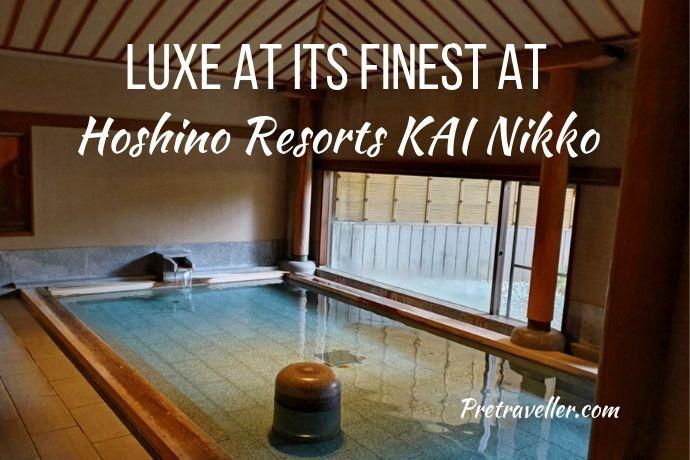 Hoshino Resorts KAI Nikko Ryokan